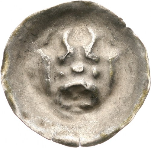 Zakon Krzyżacki, brakteat ok. 1327-1338, Brama z trzema strzelnicami