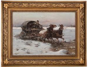 Jan Konarski (1850-1918)Wóz