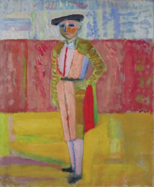 Artur Nacht-Samborski (1898 Kraków - 1974 Warszawa)Portret torreadora, ok. 1939