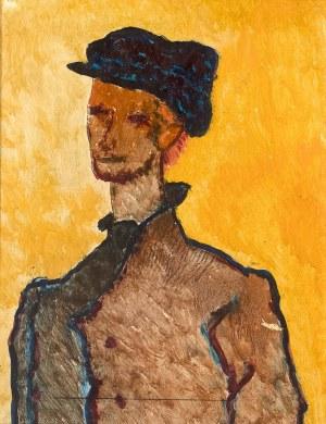 Stanisław Eleszkiewicz (1900 Czutowo k. Połtawy - 1963 Paryż)Mężczyzna z rudymi włosami