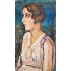 Nathan Grunsweigh (1883kraków - 1966/1977)Portret kobiety