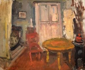 Zygmunt Schreter (1886 Łódź - 1977 Francja)Wnętrze
