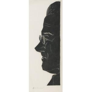 Adam MŁODZIANOWSKI (1917-1985), Autoportret, ok.1960
