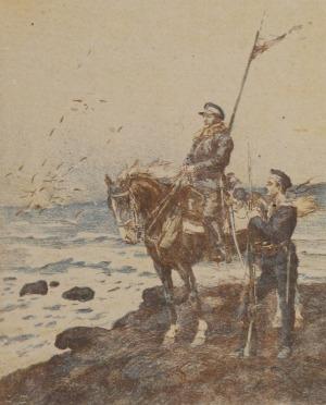 Stanisław BAGIEŃSKI (1876-1948), Zaślubiny z morzem, 1919