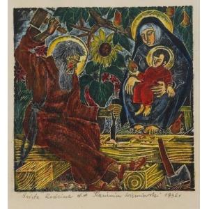 Kazimierz WISZNIEWSKI (1894-1960), Święta Rodzina, 1936