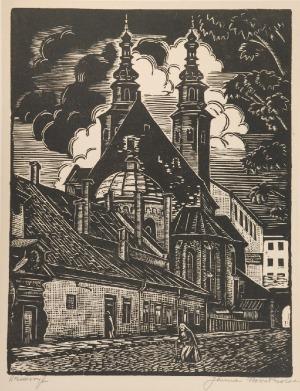 Janina NOWOTNOWA (1893-1963), Kościół Św. Andrzeja w Krakowie, 1920