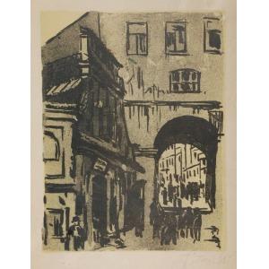 Józef TOM (1886-1962), Brama Grodzka w Lublinie, 1931