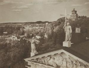 Jan BUŁHAK (1876-1950), Wilno - Katedra na Antokolu, 1916