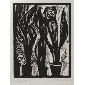 Adam MŁODZIANOWSKI (1917-1985), Dziwny kwiat, ok. 1959