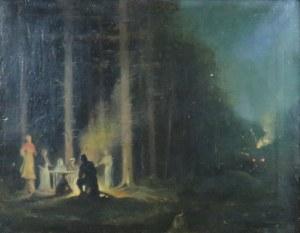 Ludwik De Laveaux (1868-1894), Pejzaż nocny