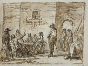 Norblin de La Gourdaine Jan Piotr, ŻOŁNIERZE W OBERŻY