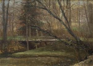 Ruszczyc Ferdynand, PARK WIOSNĄ, 1896