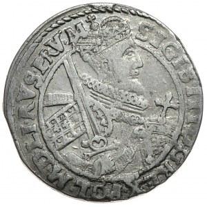 Zygmunt III Waza, ort 1621, Bydgoszcz, PRV:M ozdobniki spirale i gwiazdki (R5)