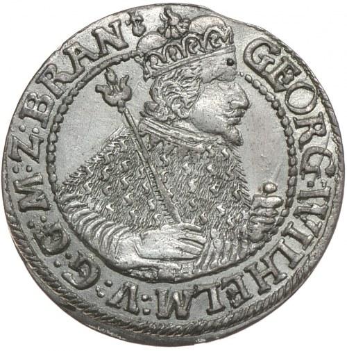 Prusy Książęce, Jerzy Wilhelm, ort 1624, Królewiec