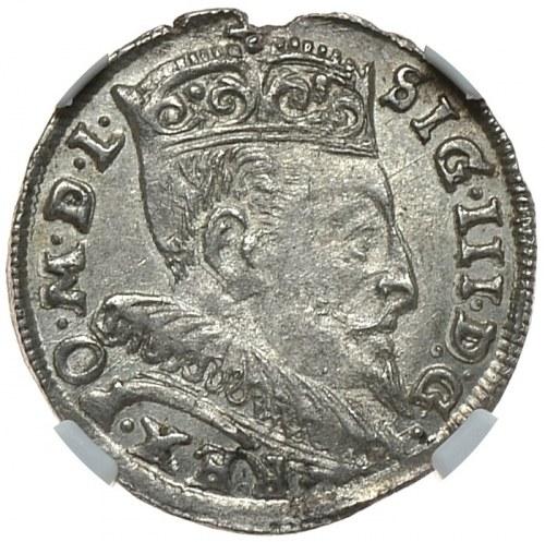 Zygmunt III Waza, trojak 1595, Wilno