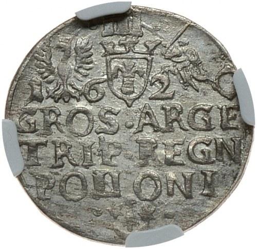 Zygmunt III Waza, trojak 1620, Kraków, POLIONI na rewersie