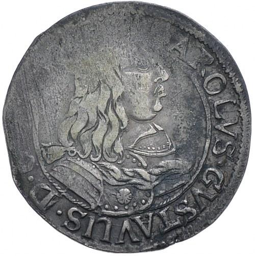 Okupacja szwedzka, Karol X Gustaw, ort 1657 NH, Elbląg
