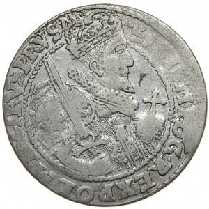 Zygmunt III Waza, ort 1622, Bydgoszcz, błąd SIGISM I, bardzo rzadki