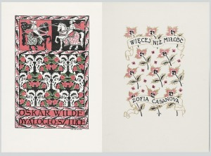 Jan BUKOWSKI (1873-1943), Para projektów okładek do: