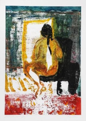 Joanna GOŁASZEWSKA (ur. 1961), Akt, z cyklu: Postacie, sylwetki, akty, 2011