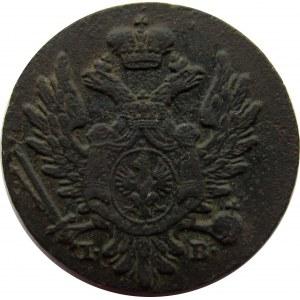 Aleksander I, 1 grosz 1823 z miedzi krajowej