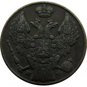 Mikołaj I, 3 grosze 1837 MW, Warszawa