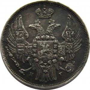 Mikołaj I, 15 kopiejek/1 złoty 1839 HG, Petersburg