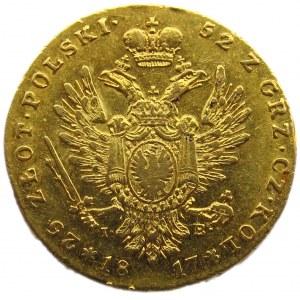 Aleksander I, 25 złotych 1817 I.B., Warszawa