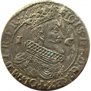 Zygmunt III Waza, ort 1624, Gdańsk