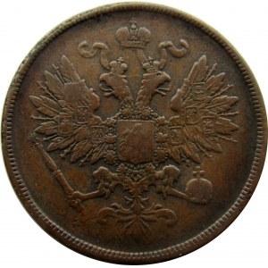 Aleksander II, 2 kopiejki 1861 B.M., Warszawa
