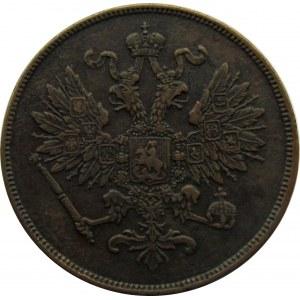 Aleksander II, 2 kopiejki 1863 B.M., Warszawa