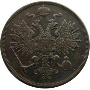 Aleksander II, 3 kopiejki 1861 B.M., Warszawa