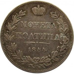 Mikołaj I, Połtina 1844 MW, Warszawa