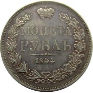 Mikołaj I, 1 rubel 1844 MW, Warszawa