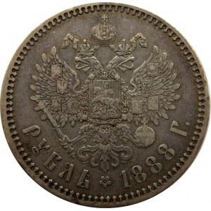 Aleksander III, 1 rubel 1888, Petersburg