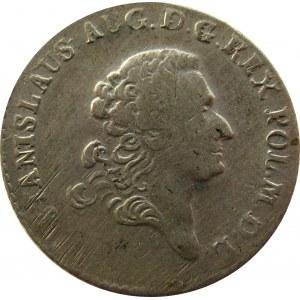 Stanisław A. Poniatowski, 4 grosze srebrne (złotówka) 1766 FS