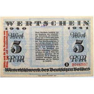 Niemcy,Pomoc dla narodu niemieckiego, 5 marek 1940/41