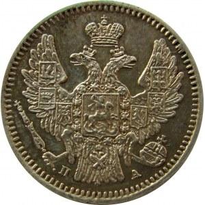 Rosja, Mikołaj I, 5 kopiejek 1846 PA, Petersburg