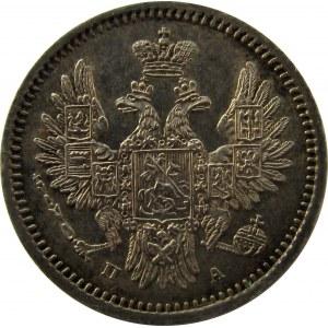 Rosja, Mikołaj I, 5 kopiejek 1850 PA, Petersburg