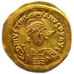 Cesarstwo Wschodnie, solidus Justynian I (527-565), piękny!