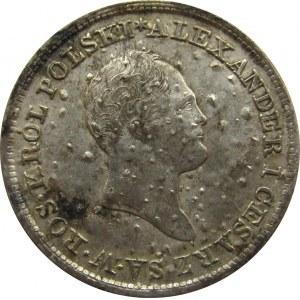 Aleksander I, 1 złoty 1822 I.B., Warszawa, rzadkie