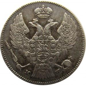 Mikołaj I, 30 kopiejek/2 złote 1836 MW, Warszawa