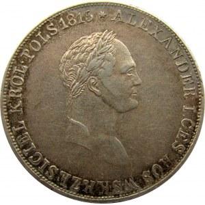 Mikołaj I, 5 złotych 1830 F.H., Warszawa, ładne