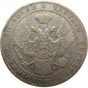 Mikołaj I, 1 1/2 rubla/10 złotych 1840 MW, Warszawa, rzadszy rocznik