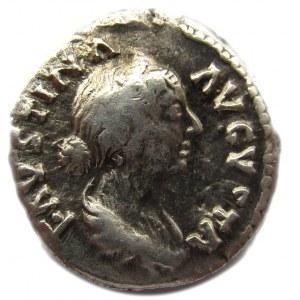 Republika Rzymska, Faustyna Młodsza (122-175), denar