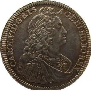 Austria, Karol VI, talar, 1637, Hall