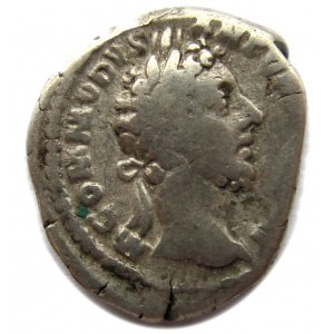 Republika Rzymska, Commodus (180-192), denar 181 r n.e.