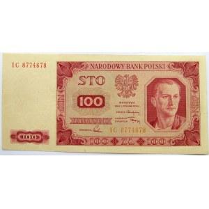 Polska, RP, 100 złotych 1948, seria IC