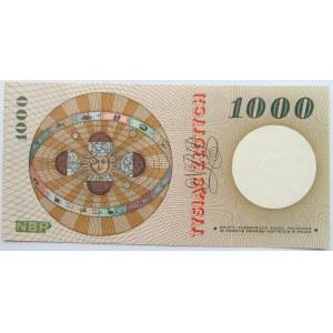 Polska, PRL, M. Kopernik, 1000 złotych 1965, seria S, UNC
