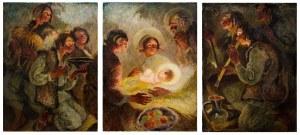 Kazimierz Sichulski, W szopce bożonarodzeniowej, 1938